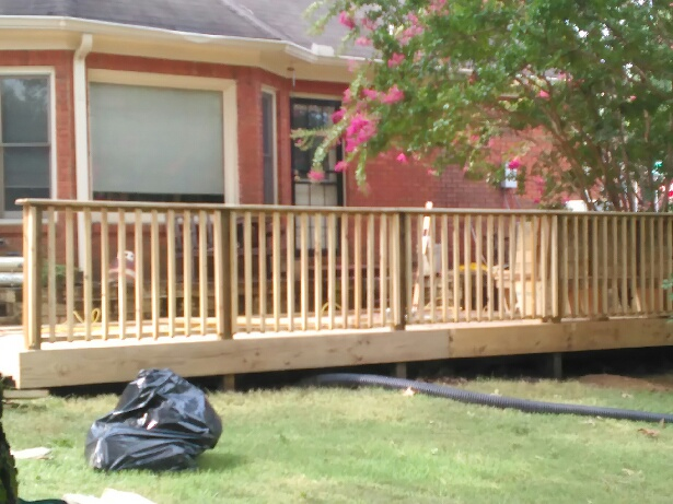 Deck Transformation Before And After Champion Home Repair